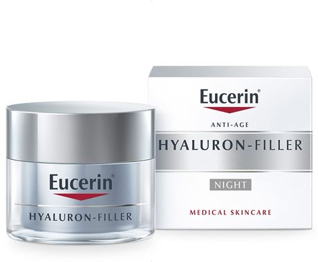 5.Kem ngăn ngừa lão hoá ban đêm Eucerin Hyaluron-Filler Night Cream 50ml