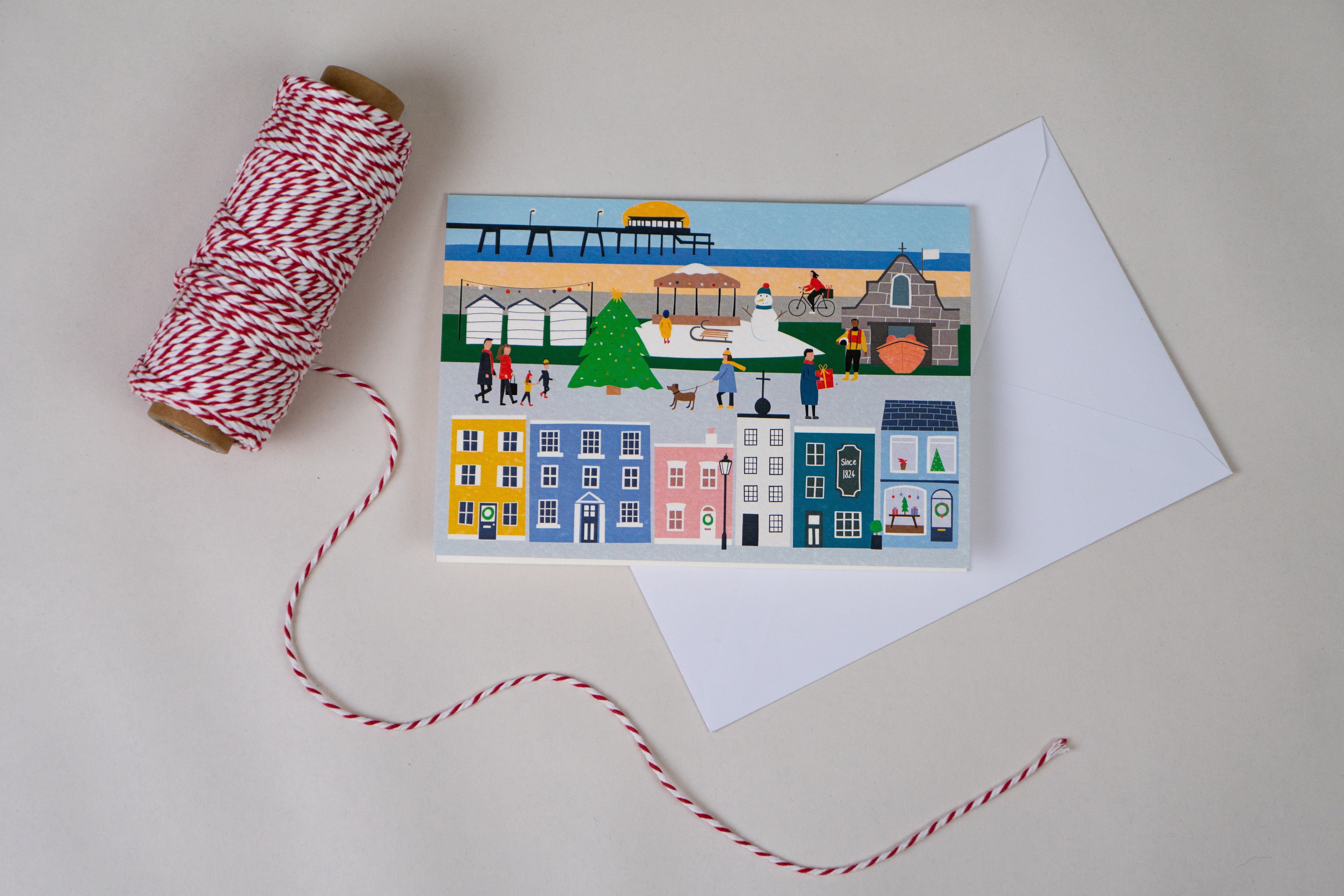 Christmas in Deal Card