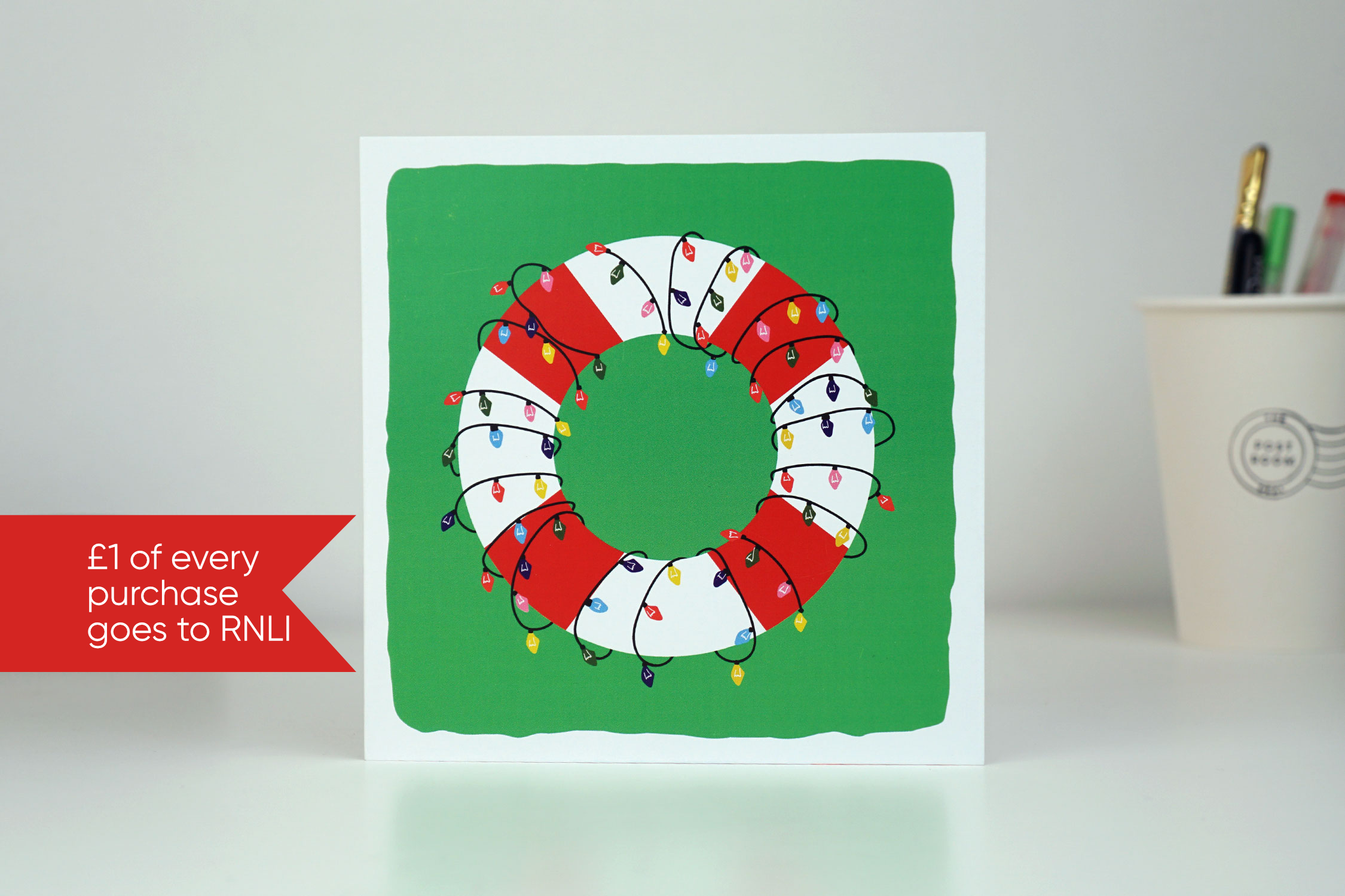 Christmas Lifebuoy Card