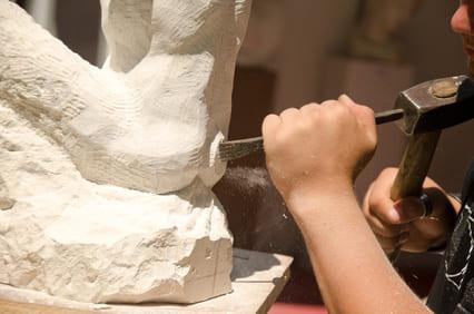 Messerschmidt Grabstein Produktion