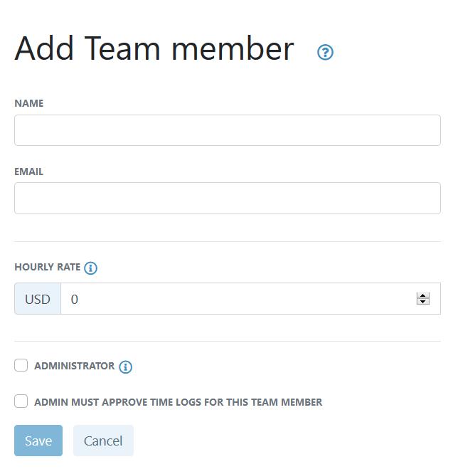 Add team member screenchot
