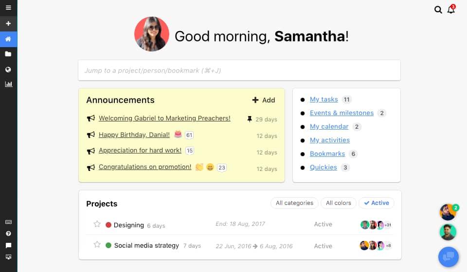 ProofHub screenshot