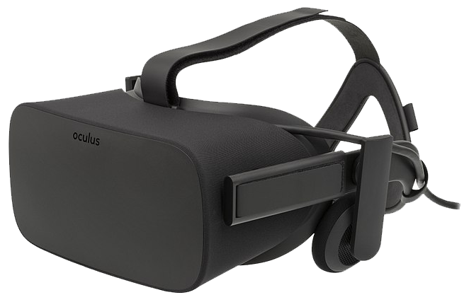 Image of a Oculus Rift virtual reality headset