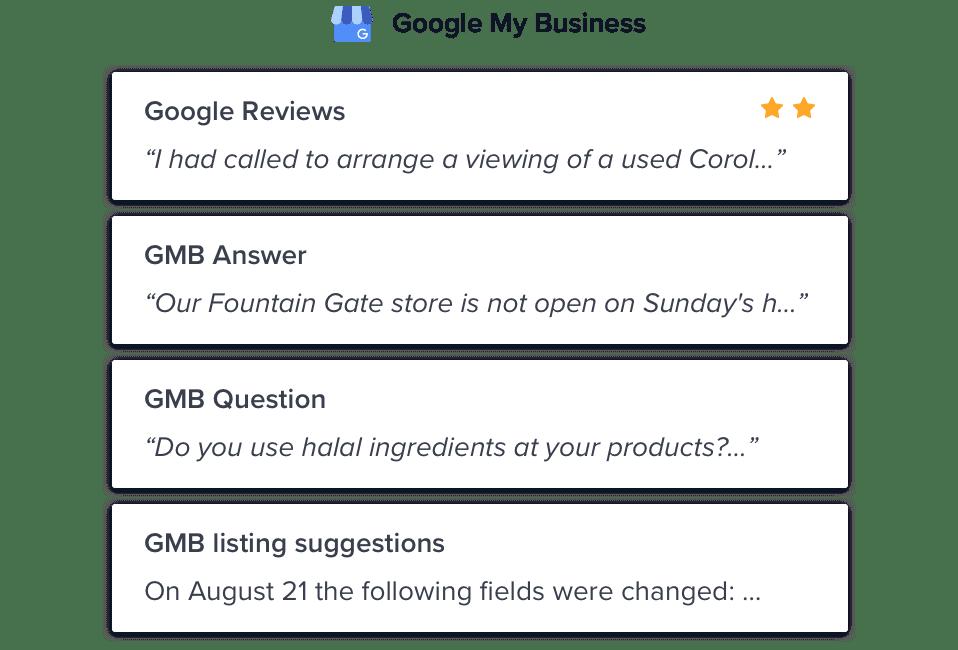GMB Automation