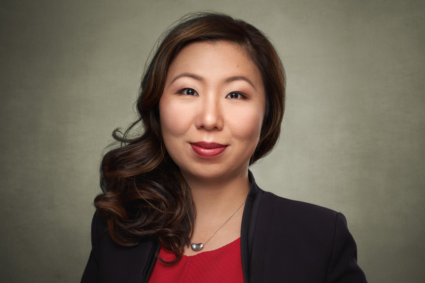 Asian American Woman Professional Headshot