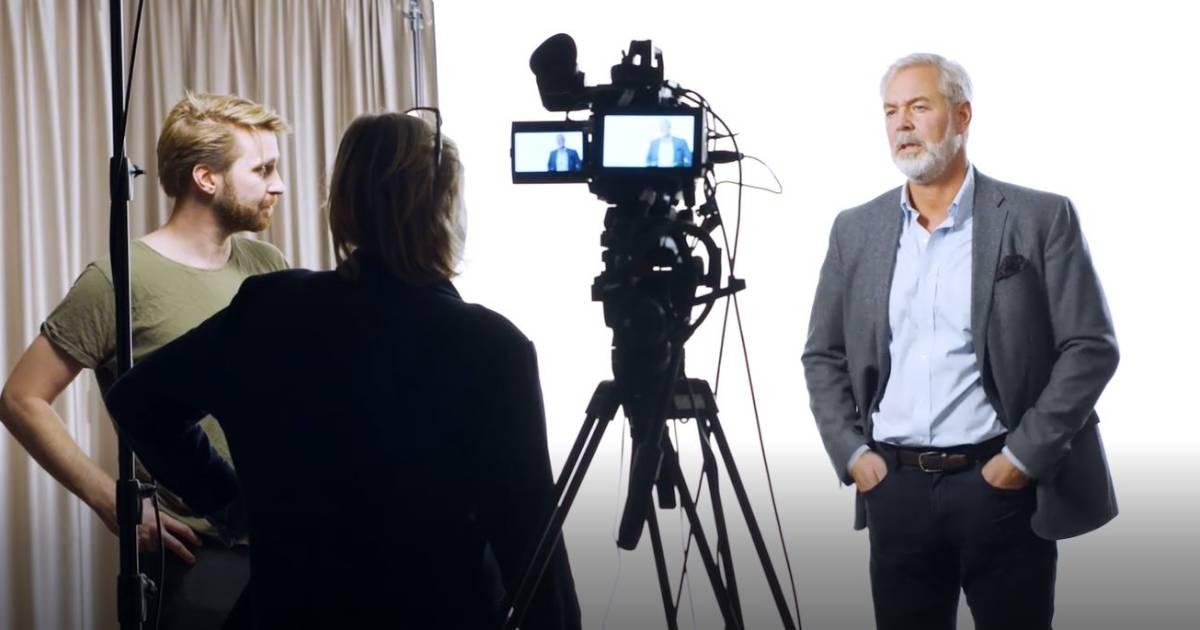 Förberedelse för digital strategikommunikation med Involves Annicka Pärson och Gränges Magnus Carlström.