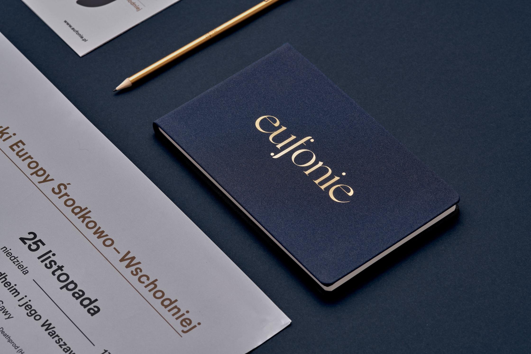 Notebook design - Eufonie Festival by Uniforma