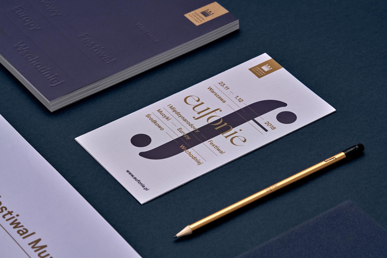 Flyer design - Eufonie Festival by Uniforma