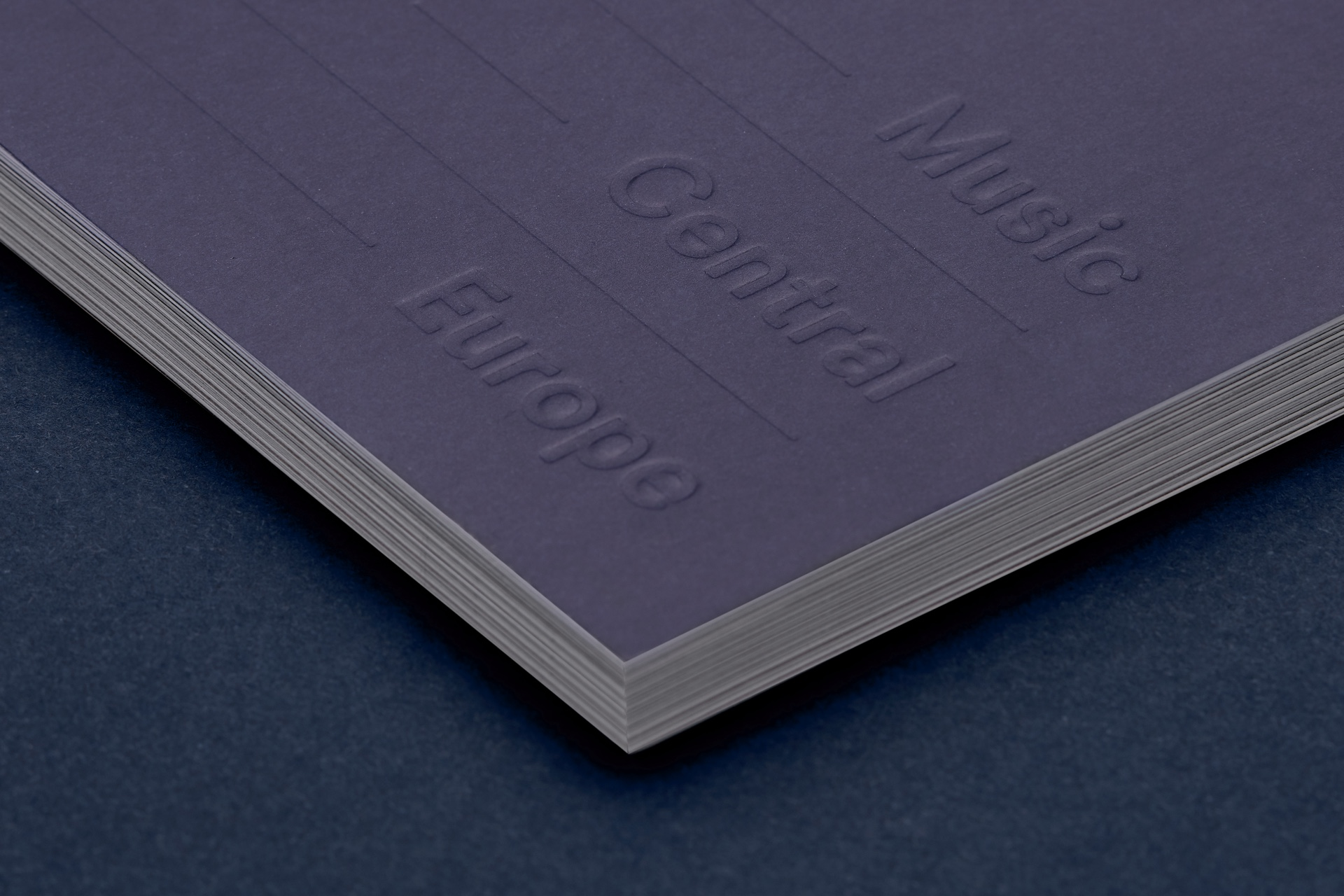 Booklet design - Eufonie Festival by Uniforma