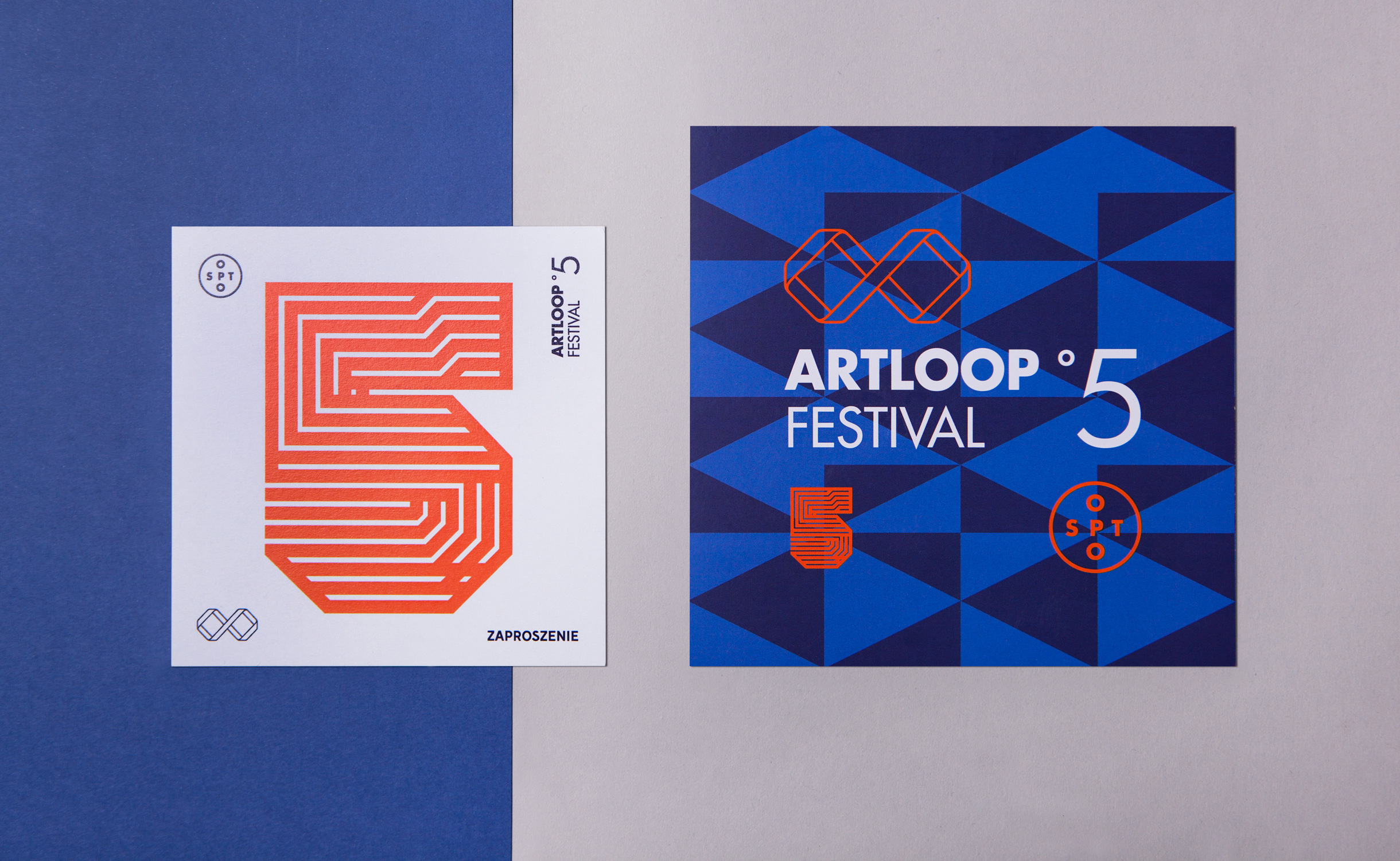 Print design - Artloop Festival 2016 by Uniforma