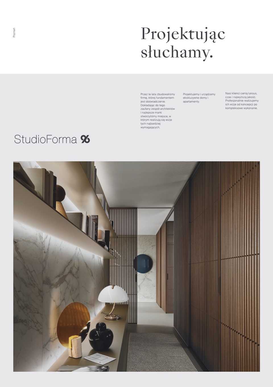 Cover design - StudioForma 96 by Uniforma