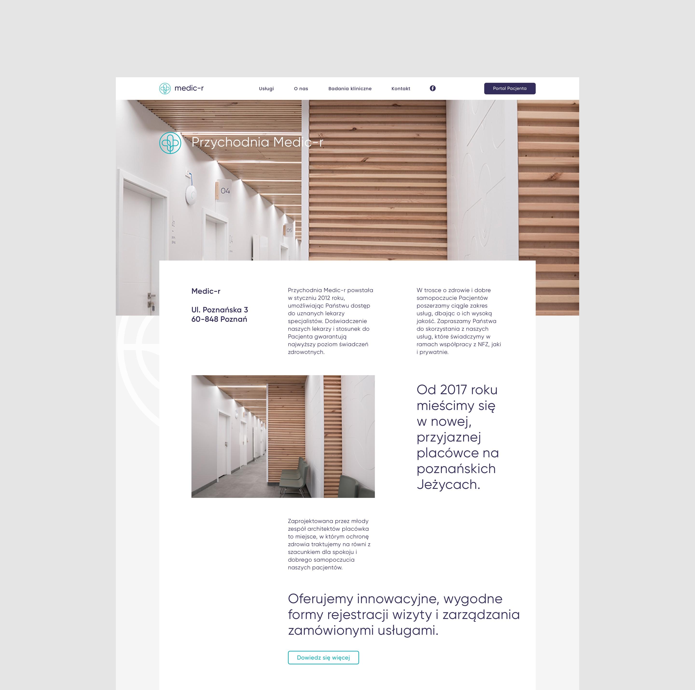 Web-design - medic-r by Uniforma
