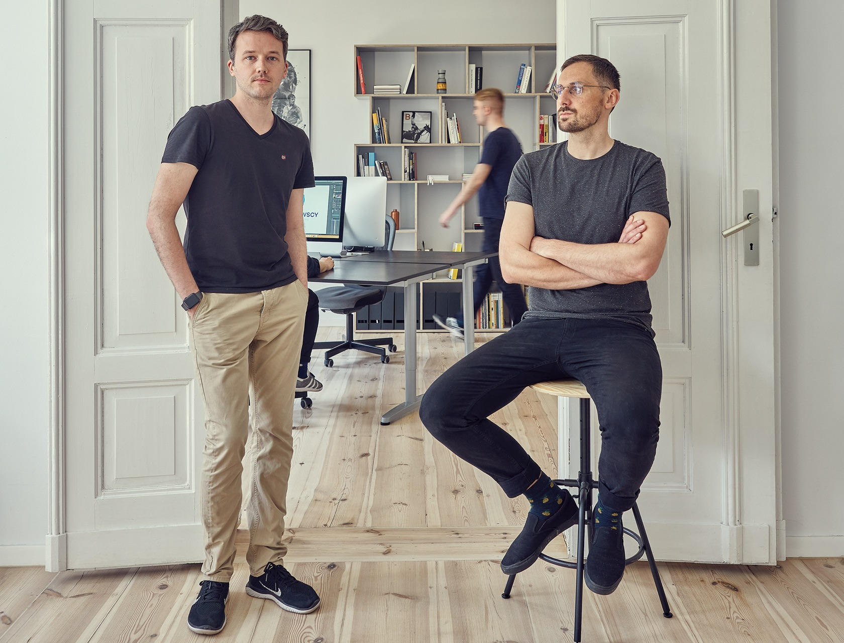 Maciej Mach and Michał Mierzwa - Owners of Uniforma Studio