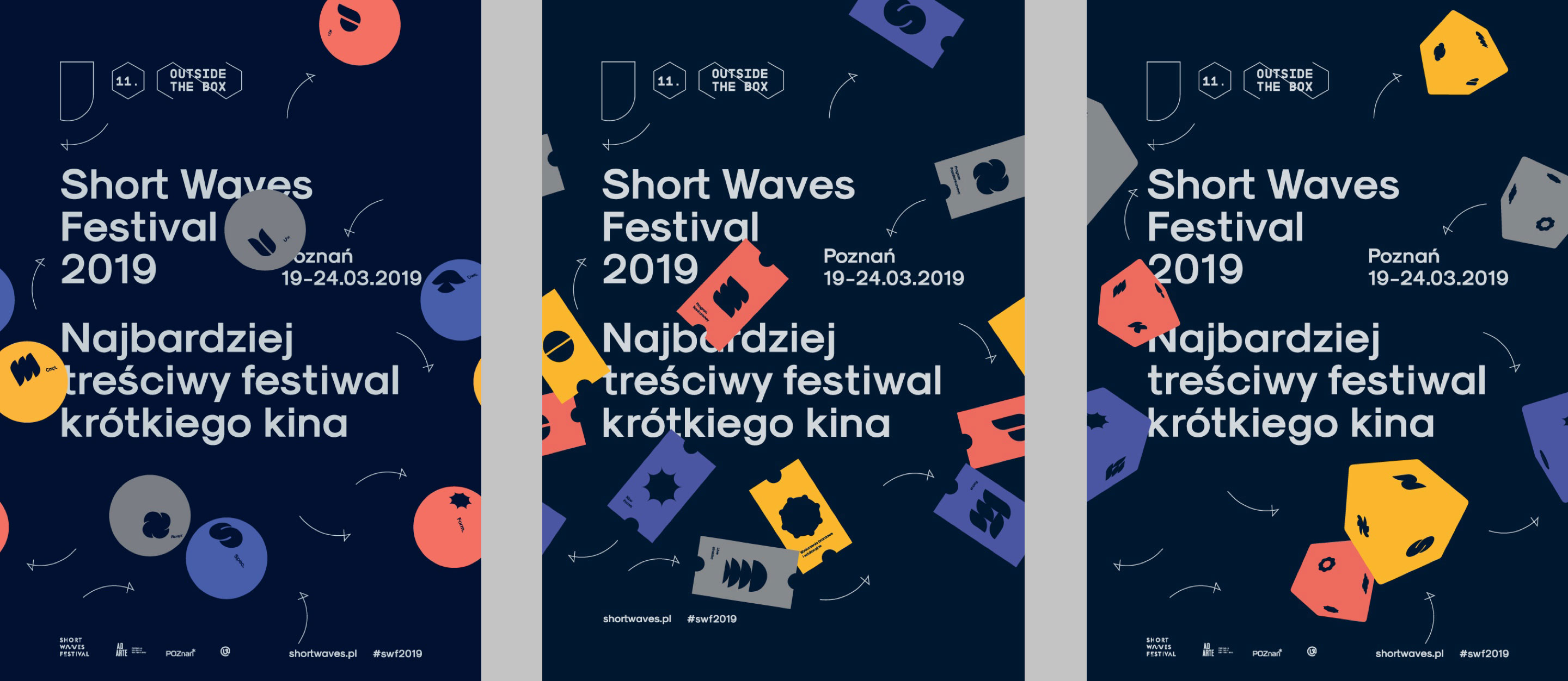 Shortwaves Festival 2019 by Uniforma - Posters