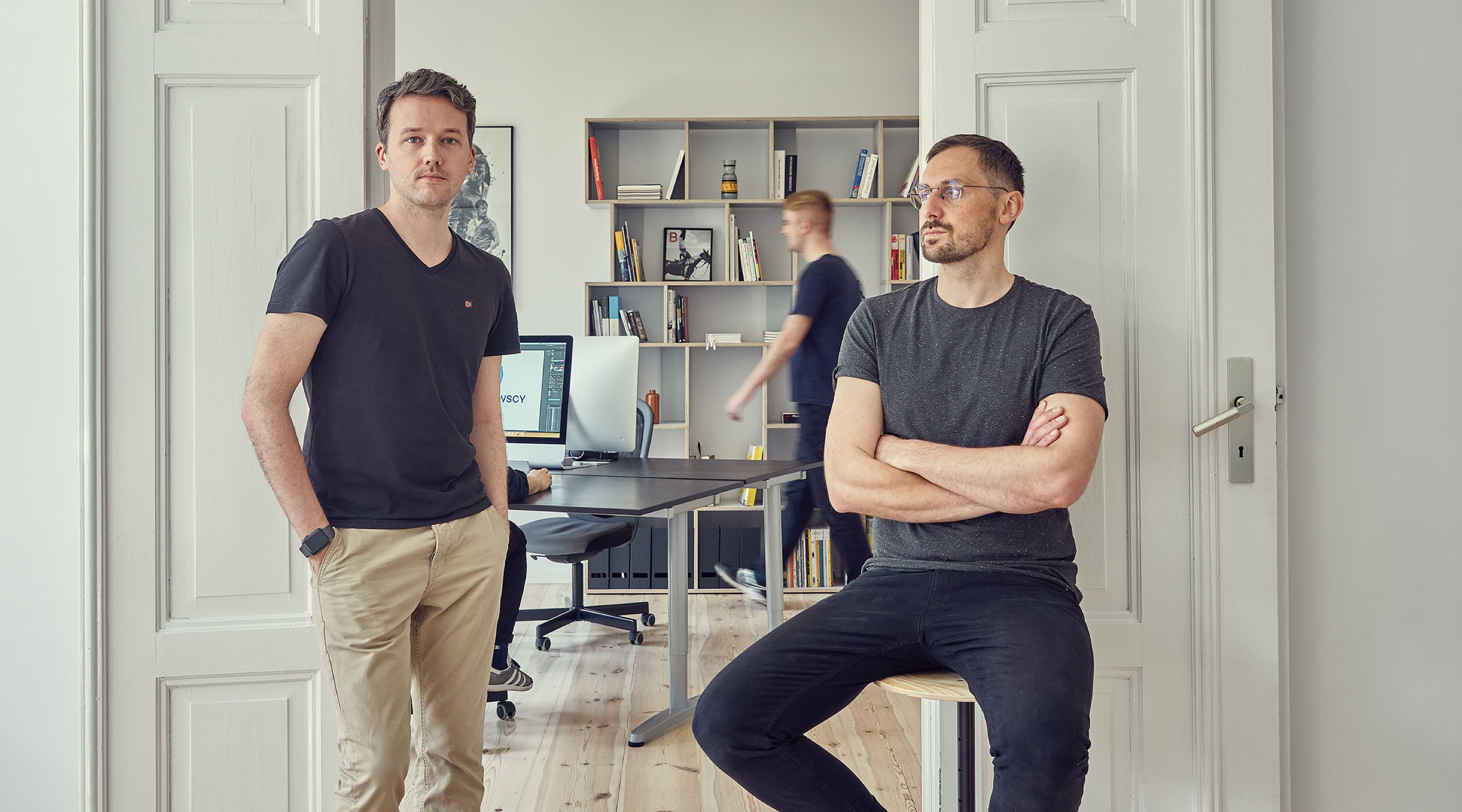 Maciej Mach, Michał Mierzwa - Owners of Uniforma Studio