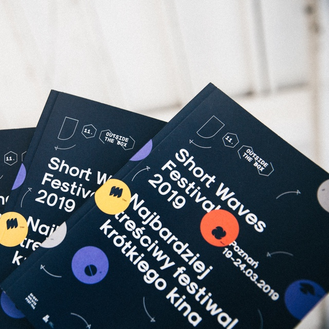 Short Waves Festival 2019 - Branding by Uniforma Studio