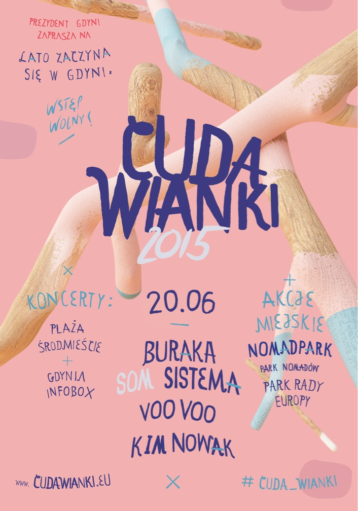 Poster design - Cudawianki by Uniforma