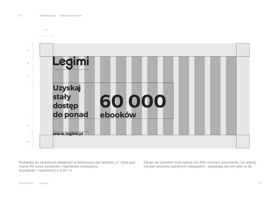 Grid - Brandbook - Legimi by Uniforma