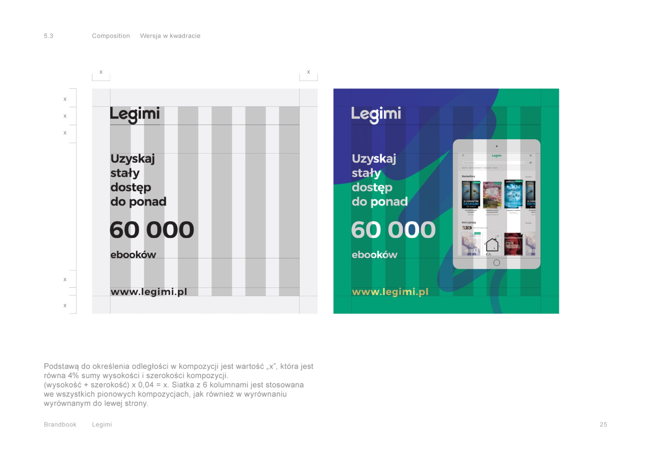 Brandbook - Legimi by Uniforma