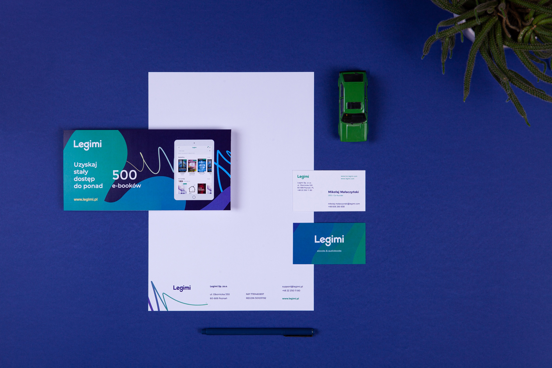Print Design - Legimi by Uniforma