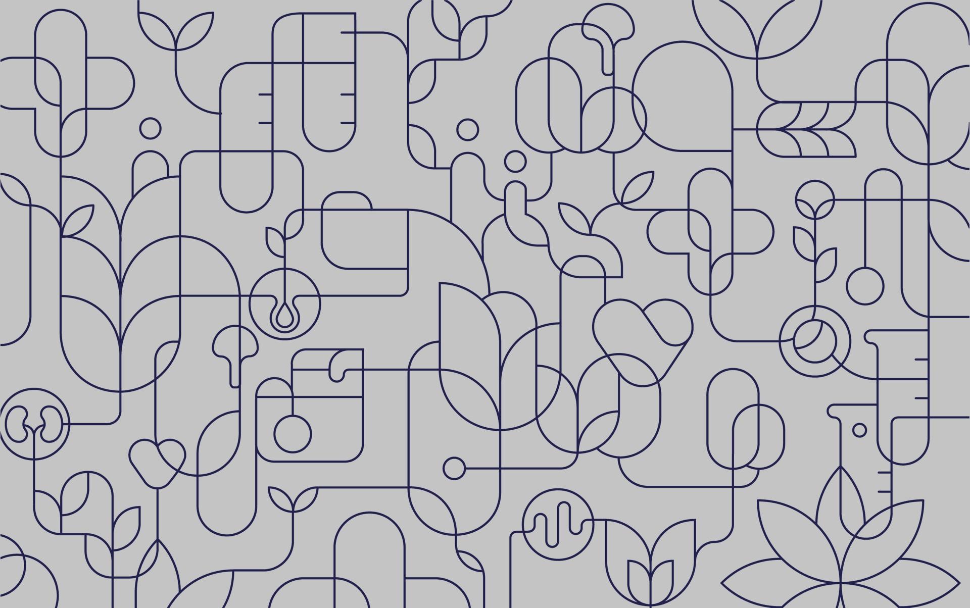 Pattern design - medic-r by Uniforma