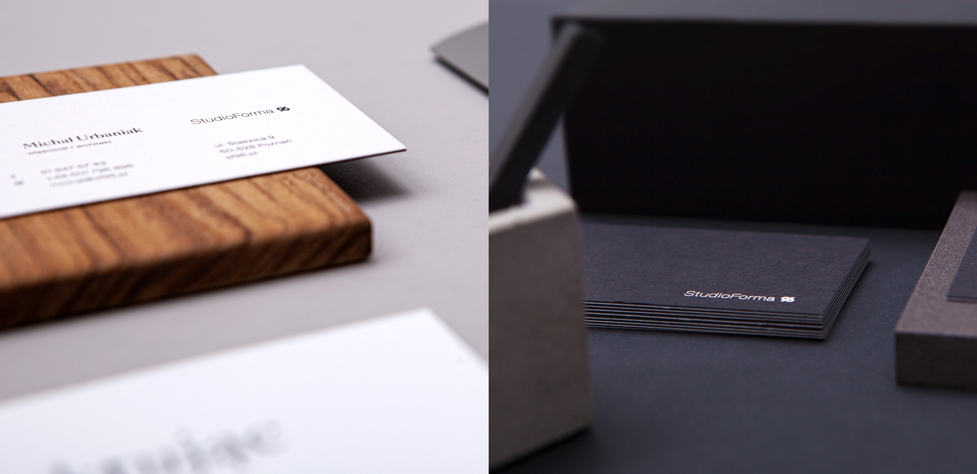 business cards - StudioForma 96 by Uniforma