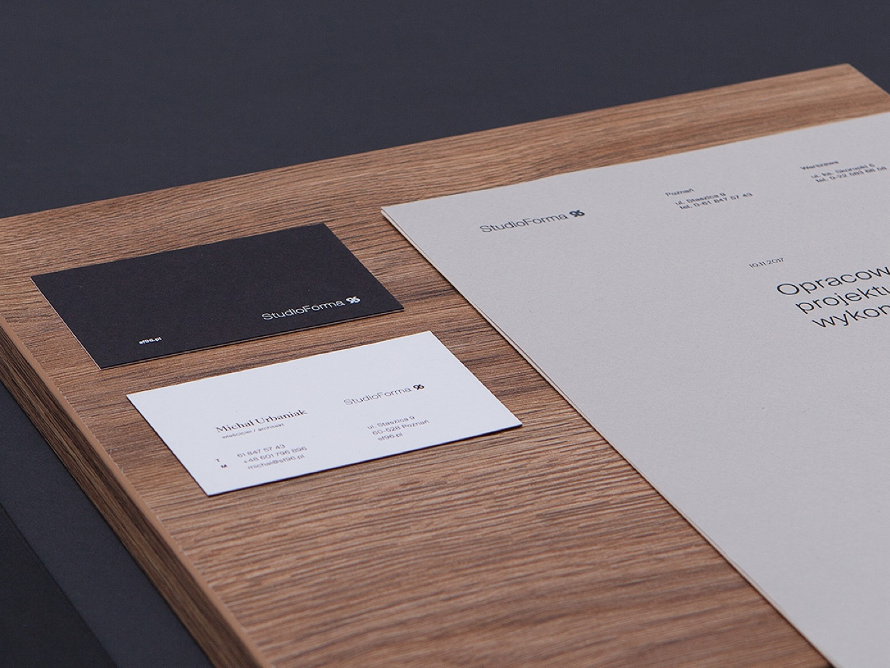 StudioForma 96 - Branding and web design - Project thumbnail