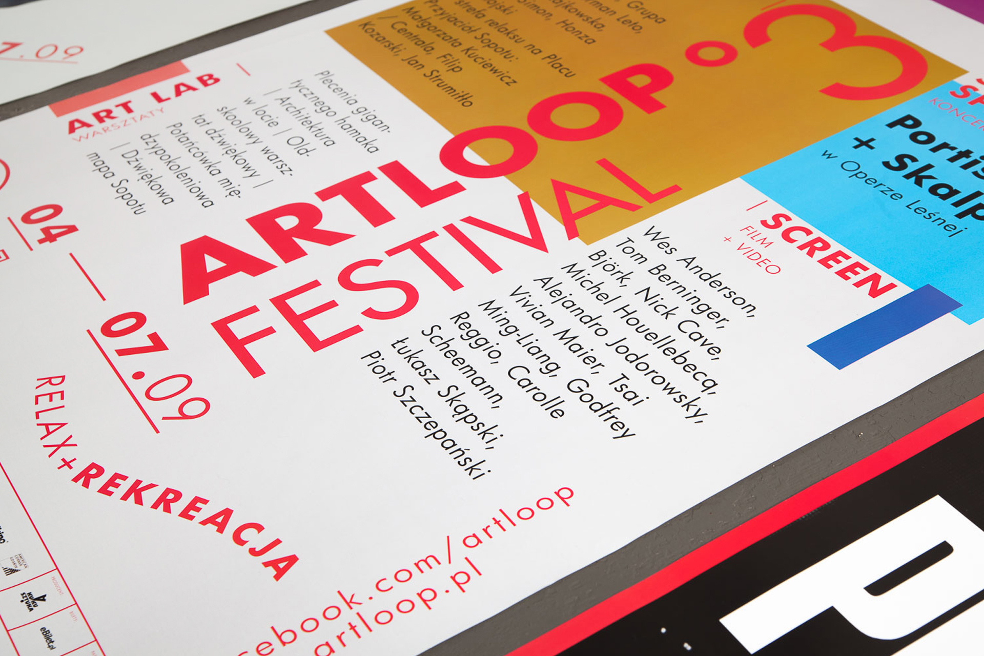 Poster design - Artloop Festival 2014 by Uniforma Studio