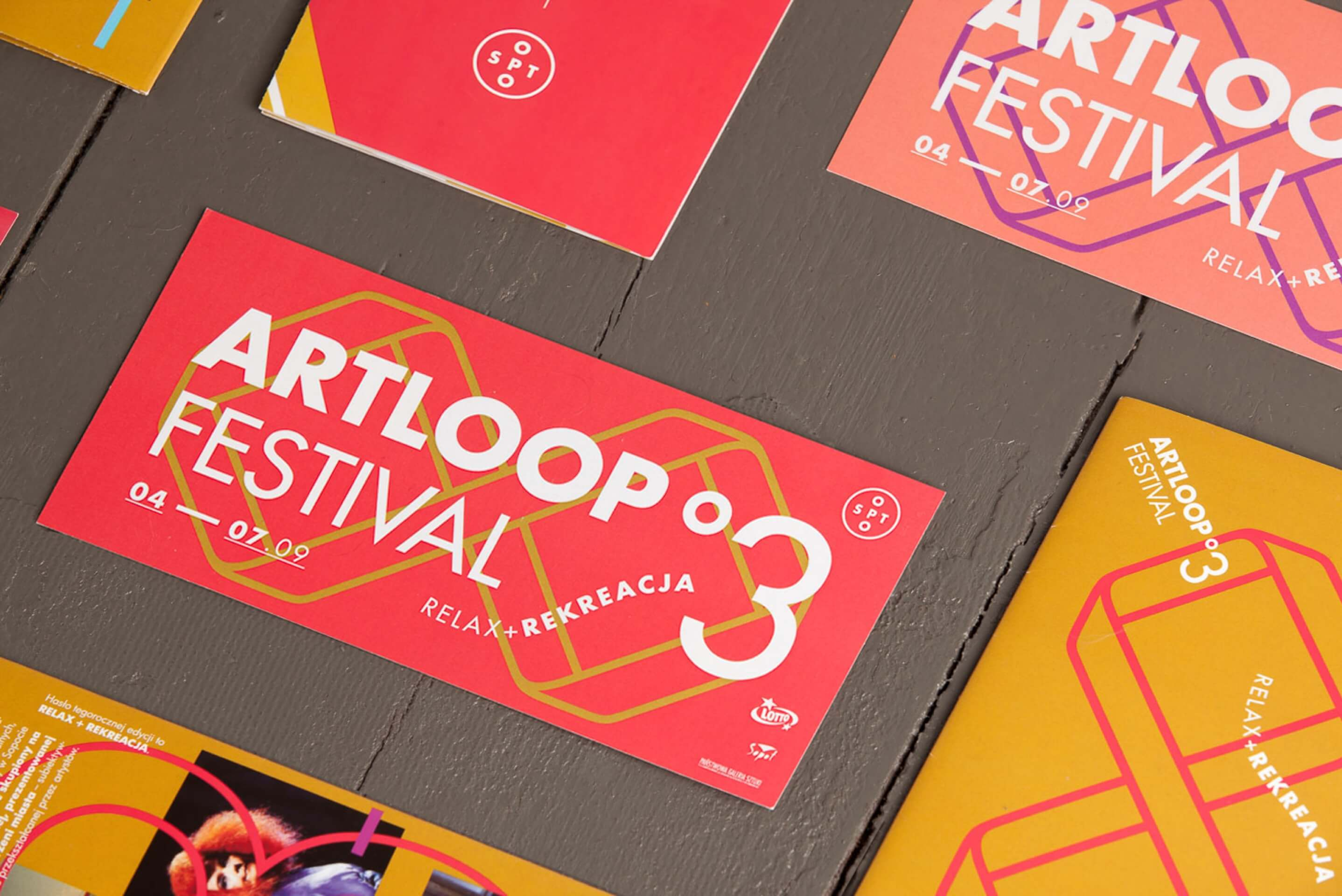 Print design - Artloop Festival 2014 by Uniforma Studio