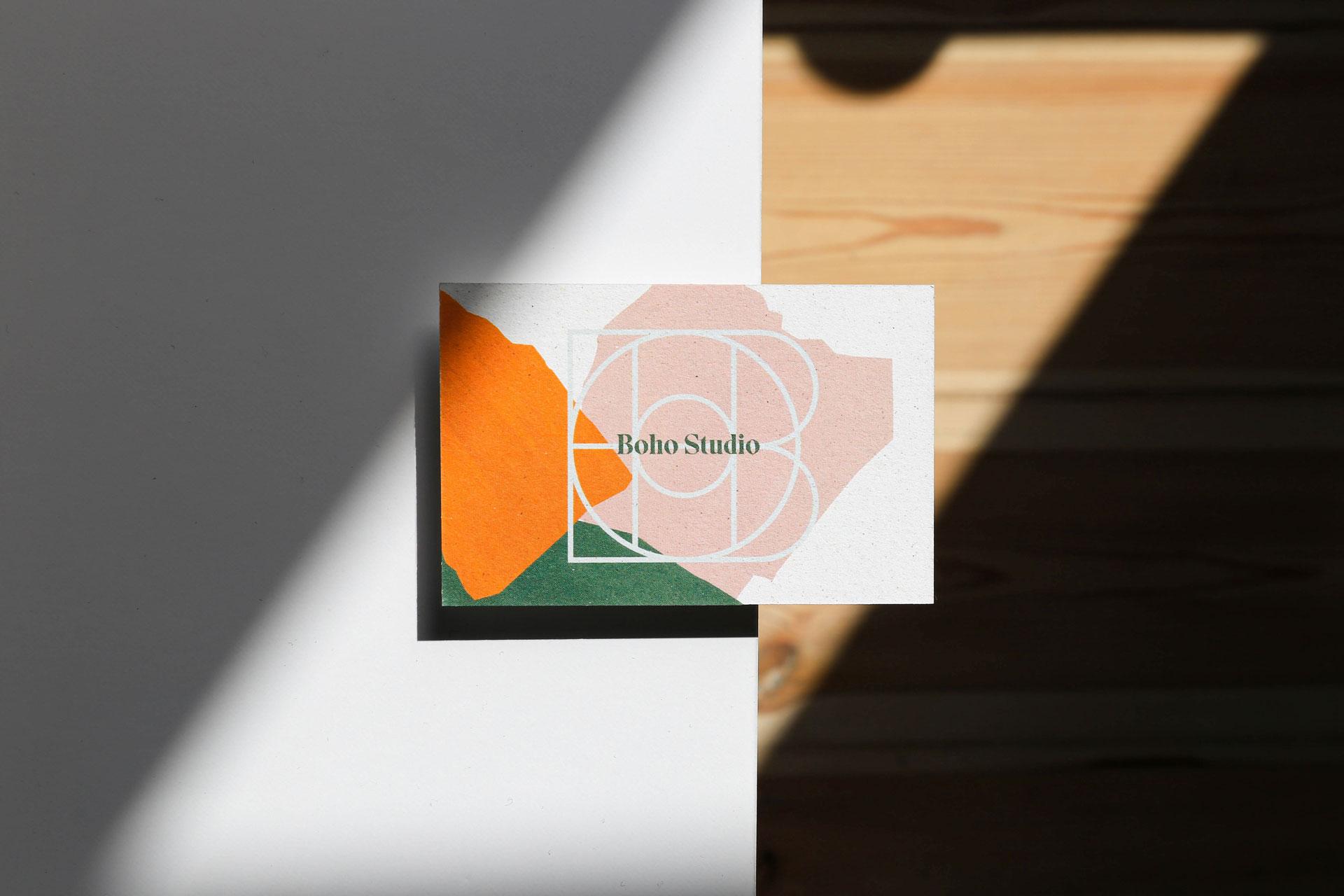 Business Card - Boho Studio by Uniforma