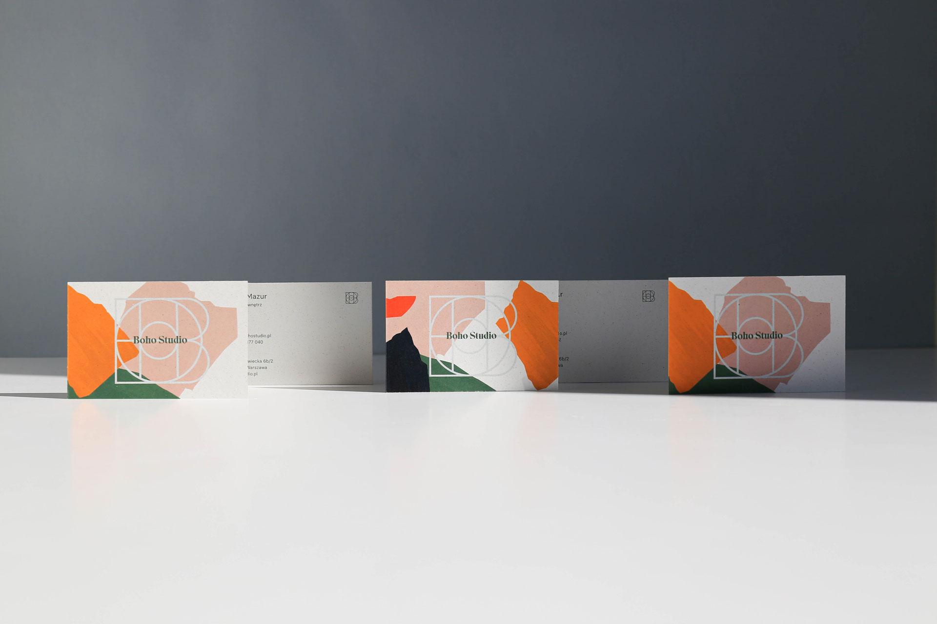 Business cards - Boho Studio by Uniforma