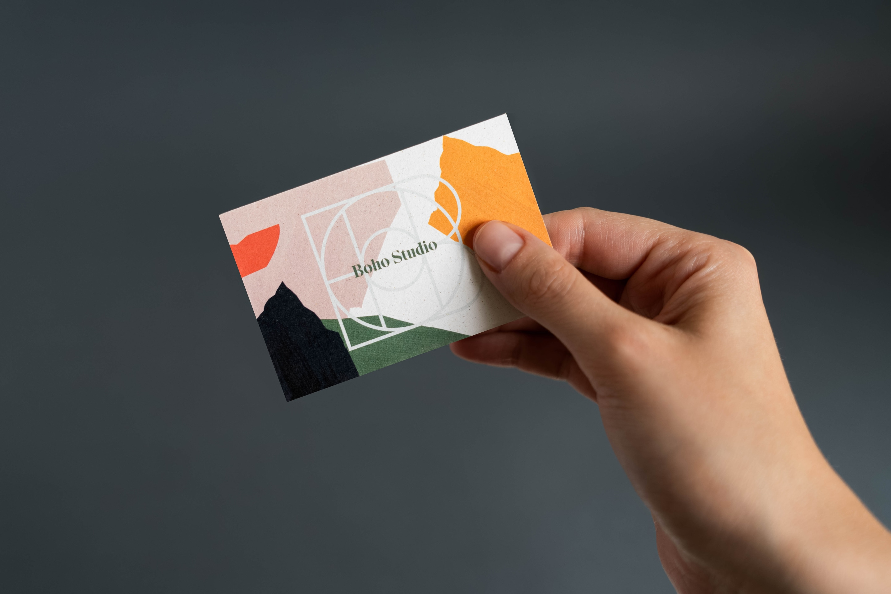 Business Card - Boho Studio by Uniforma