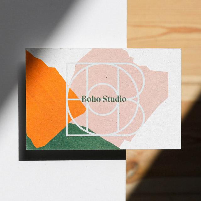 Boho Studio - Branding and web design made with webflow