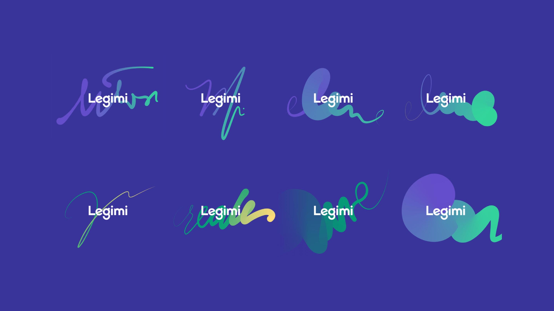 Logo variations - Legimi by Uniforma