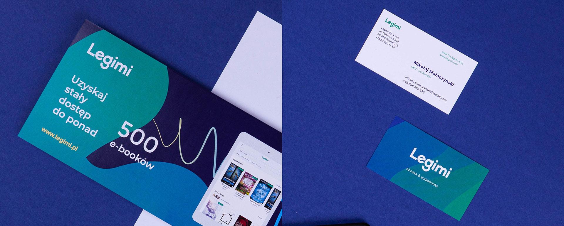 Print design - Legimi by Uniforma
