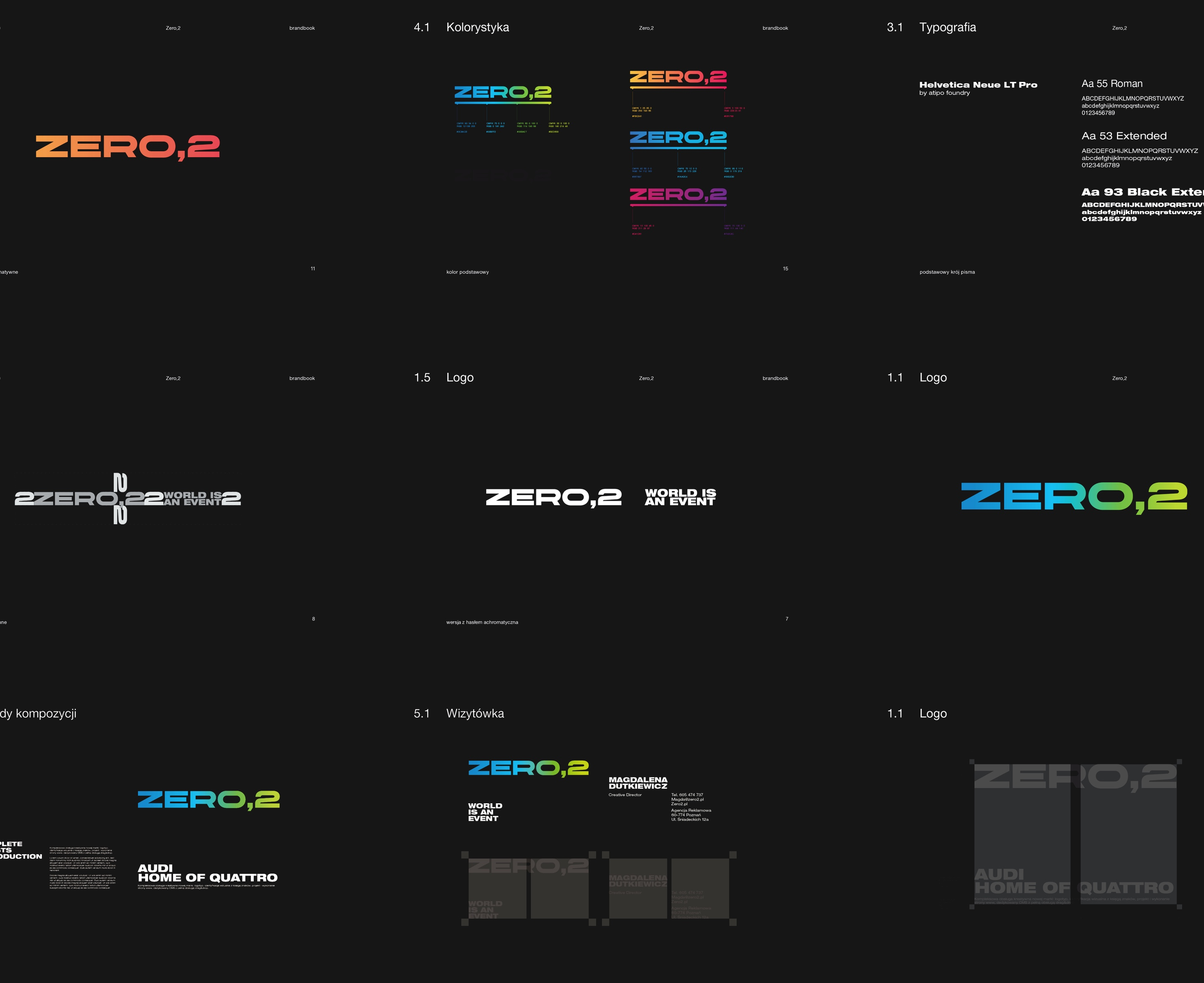 Brand book - Zero2 by Uniforma