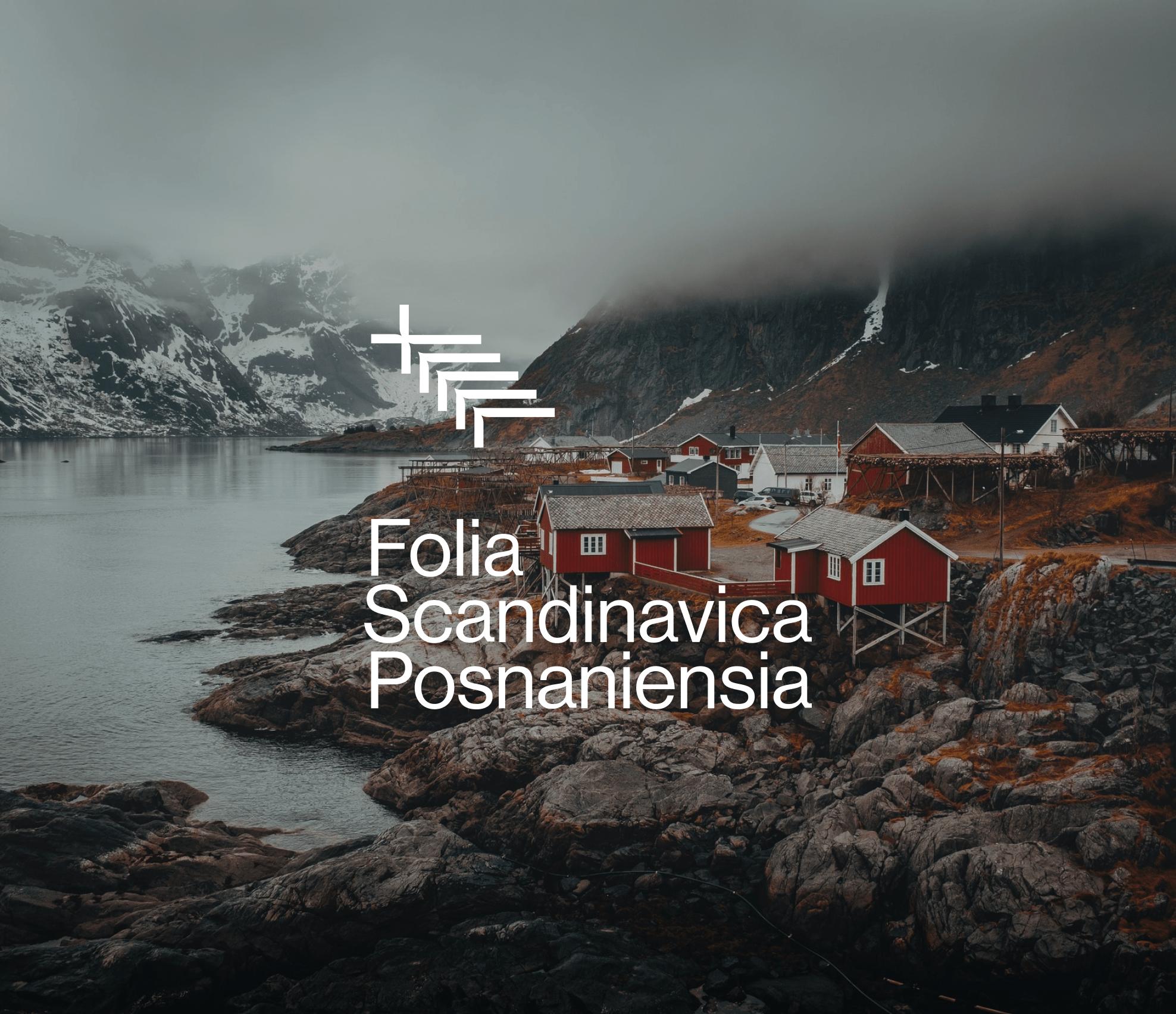 Logo on picture background - Folia Scandinavica Posnaniensia