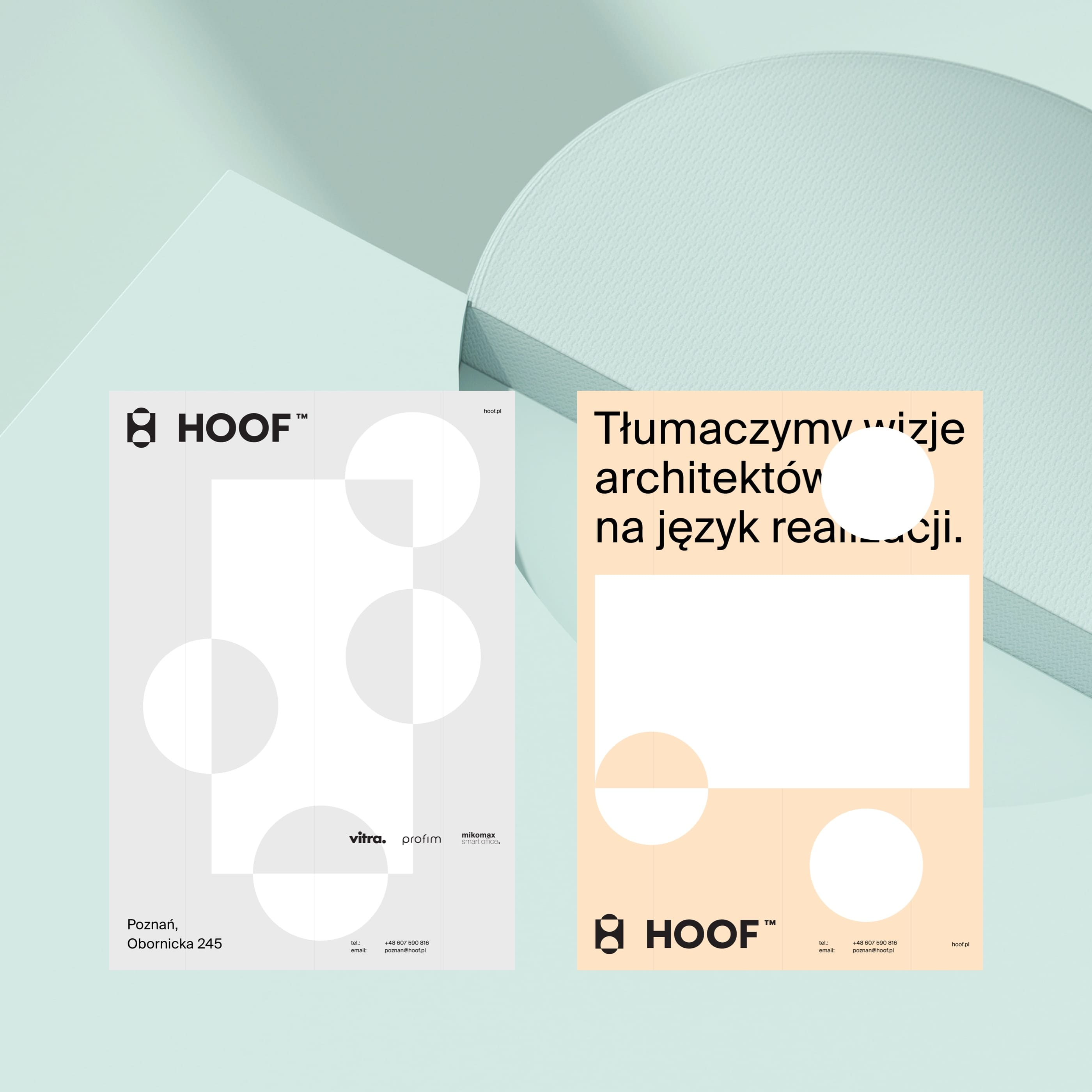 Business cards - Folia Scandinavica Posnaniensia