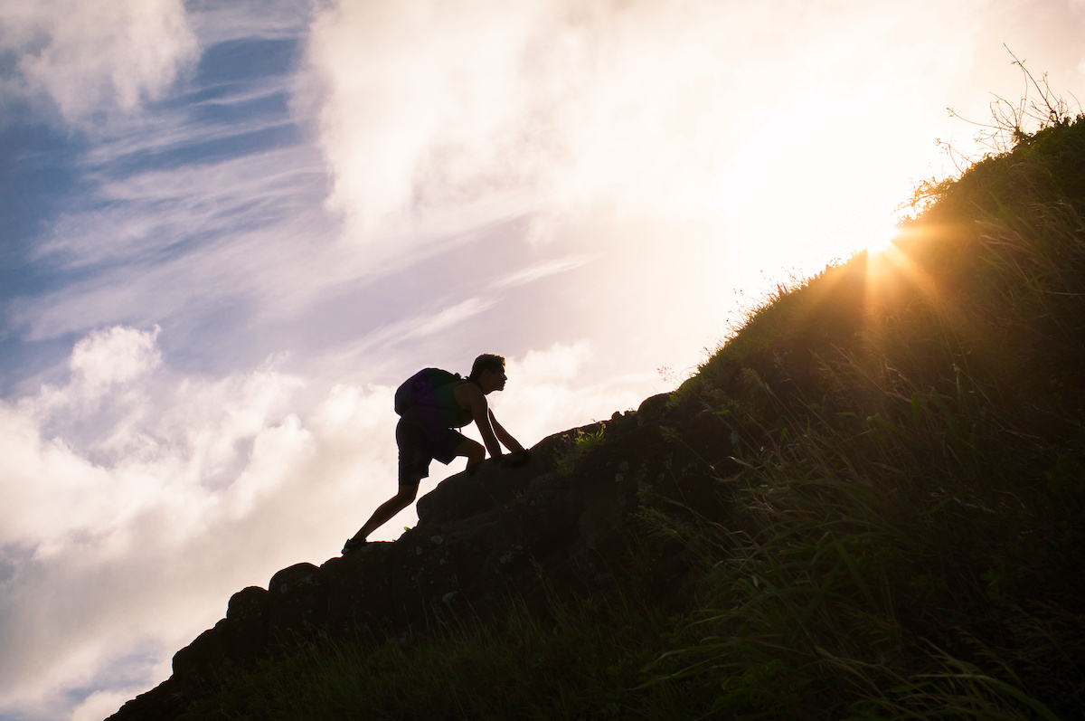 Climbing Achieving Goals