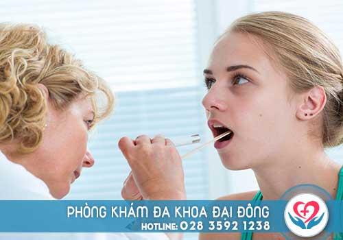 Nổi mụn trắng trong miệng không đau là bệnh gì