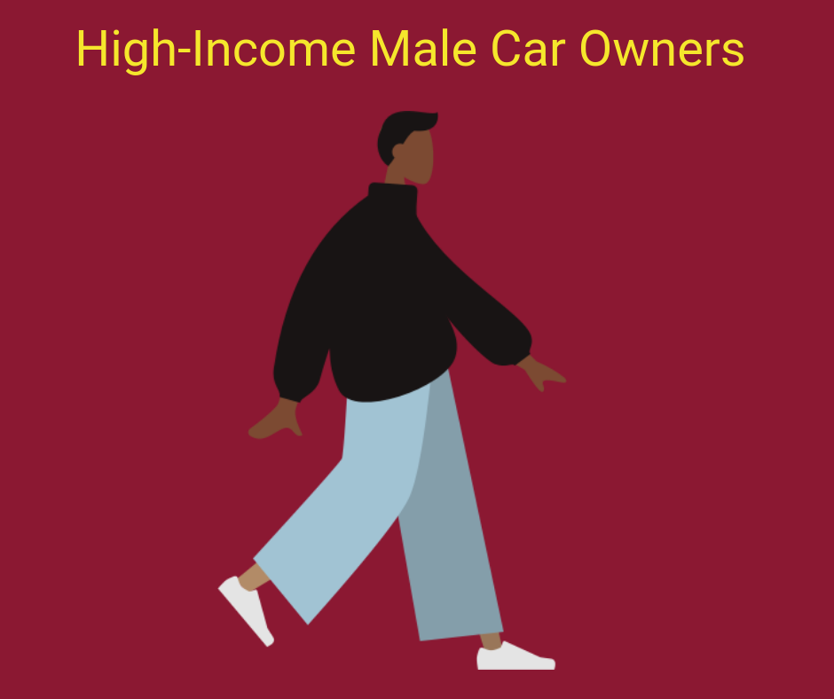 High-income male car owner