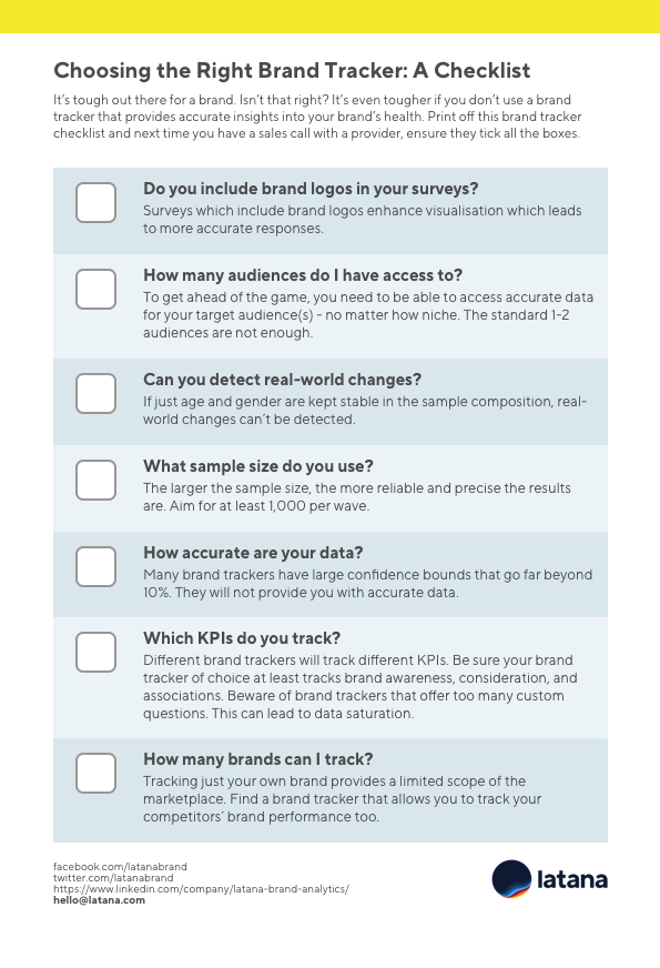 Choosing the Right Brand Tracker