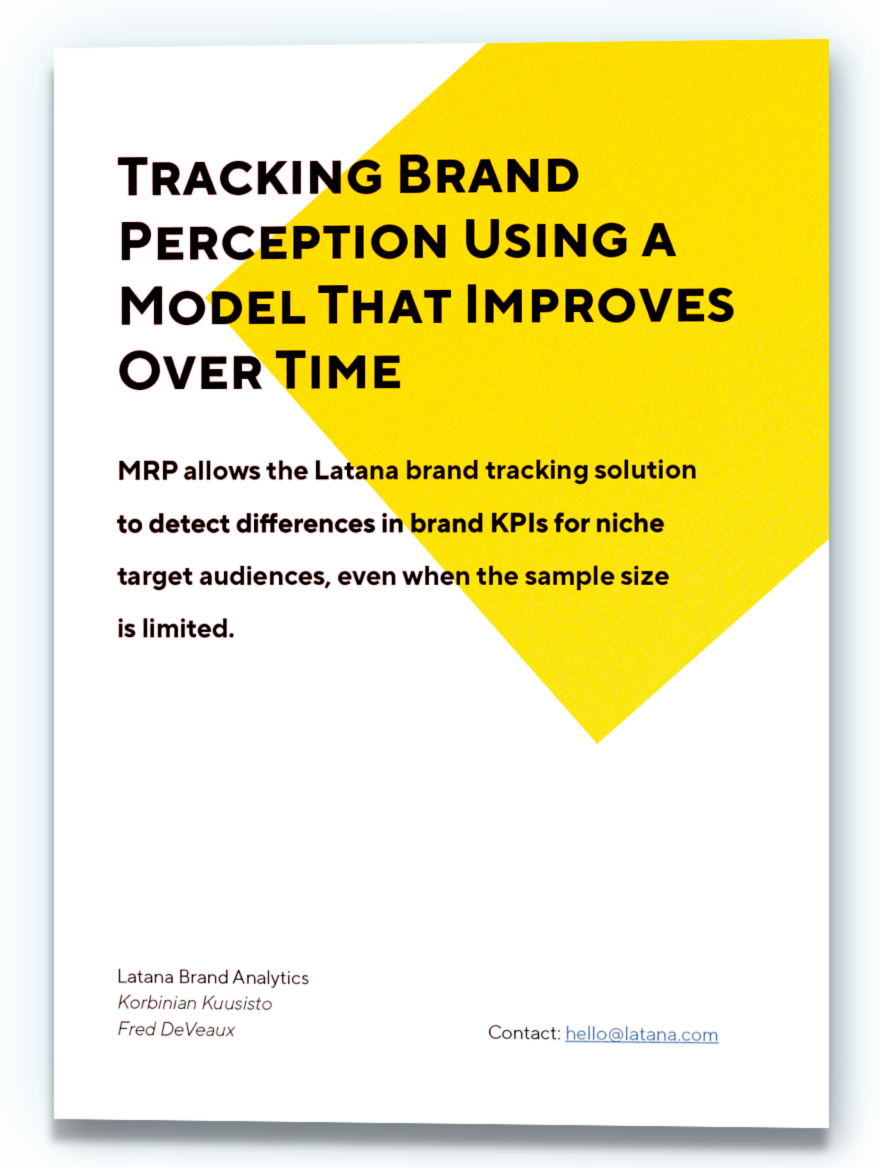 Brand Tracking and MRP Whitepaper Cover