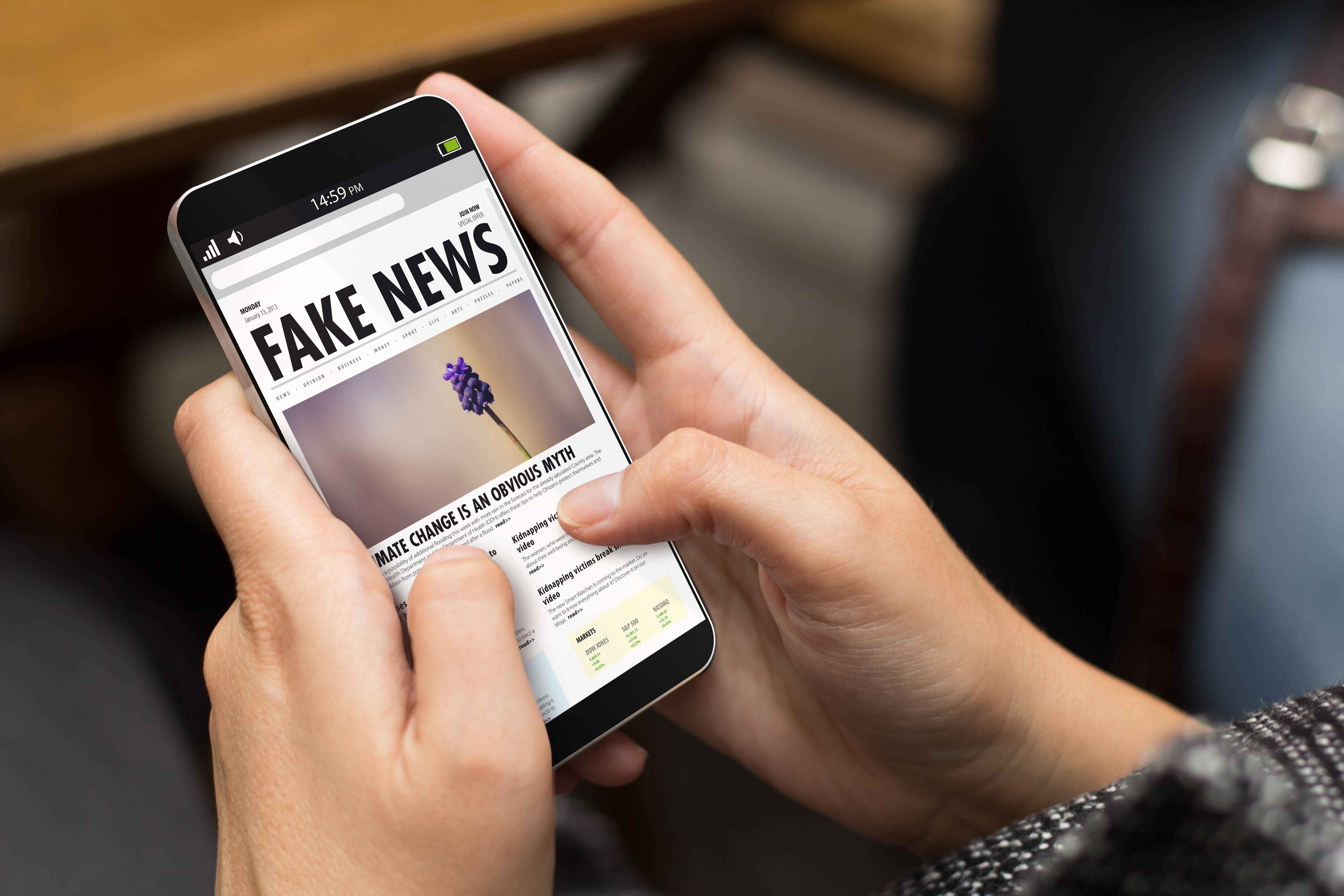 fake news harming your brand