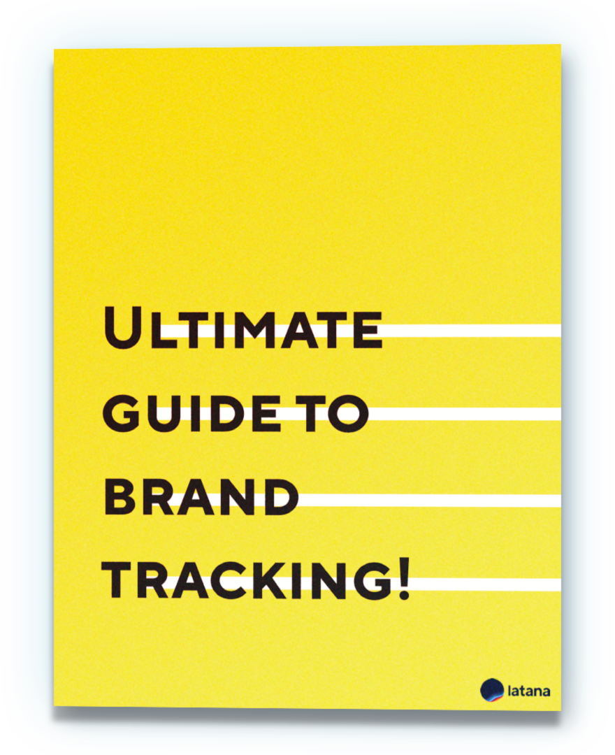 Ultimate Guide to Brand Tracking Book Cover
