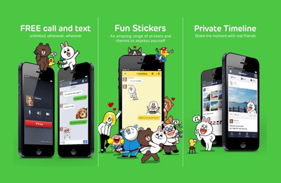 Where brand trackers get users from Line
