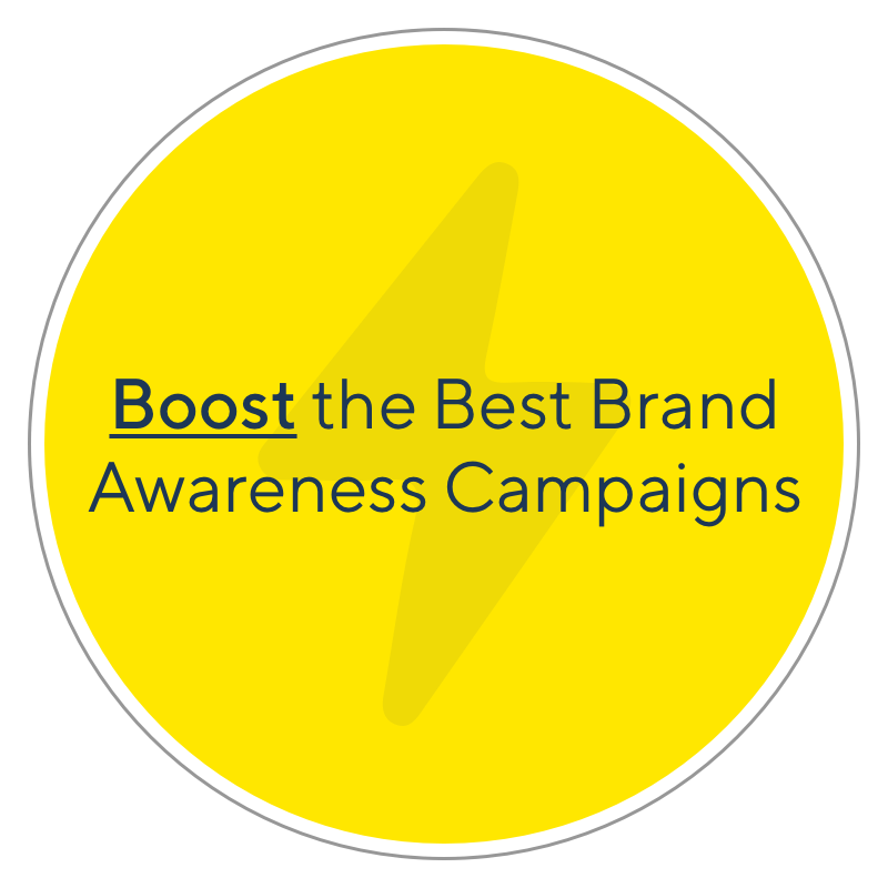 Boost the best brand awareness campaigns