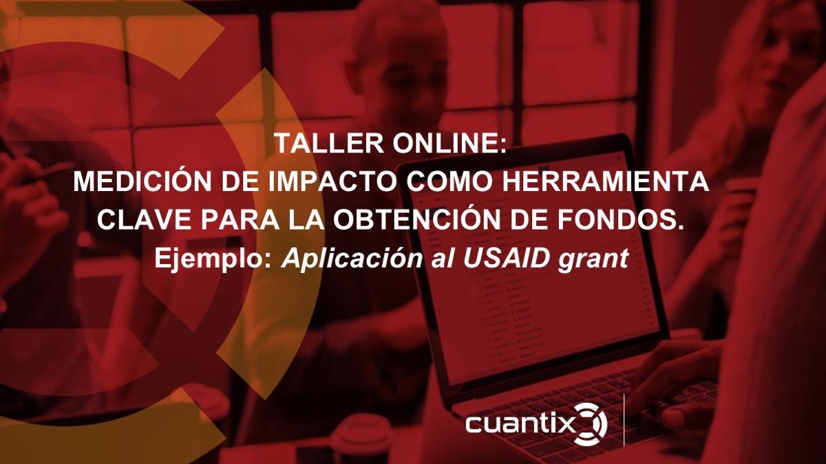 medición de impacto, USAID, Cuantix, postular a fondos de impacto, fondos de impacto