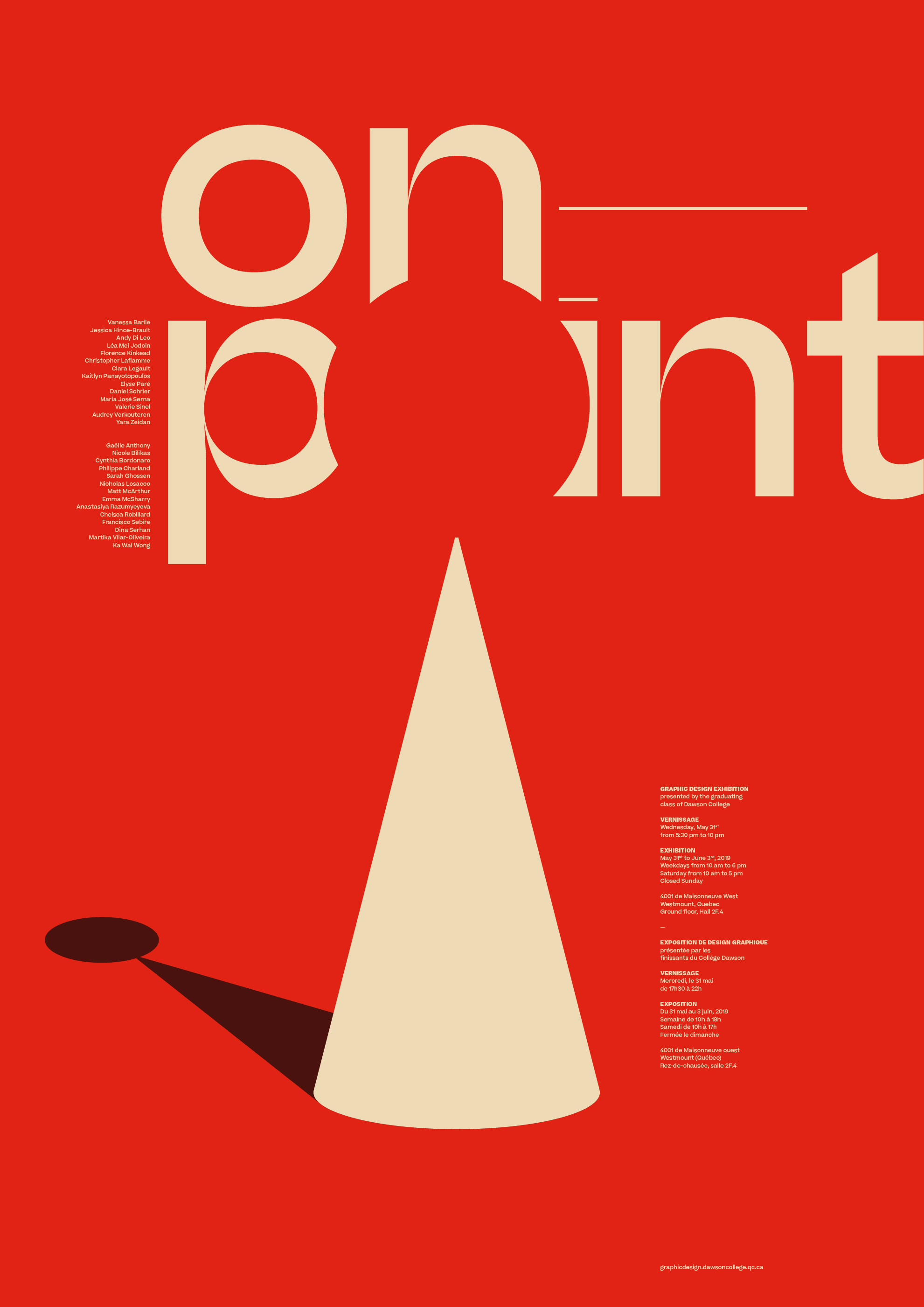 On Point Exhibition Poster