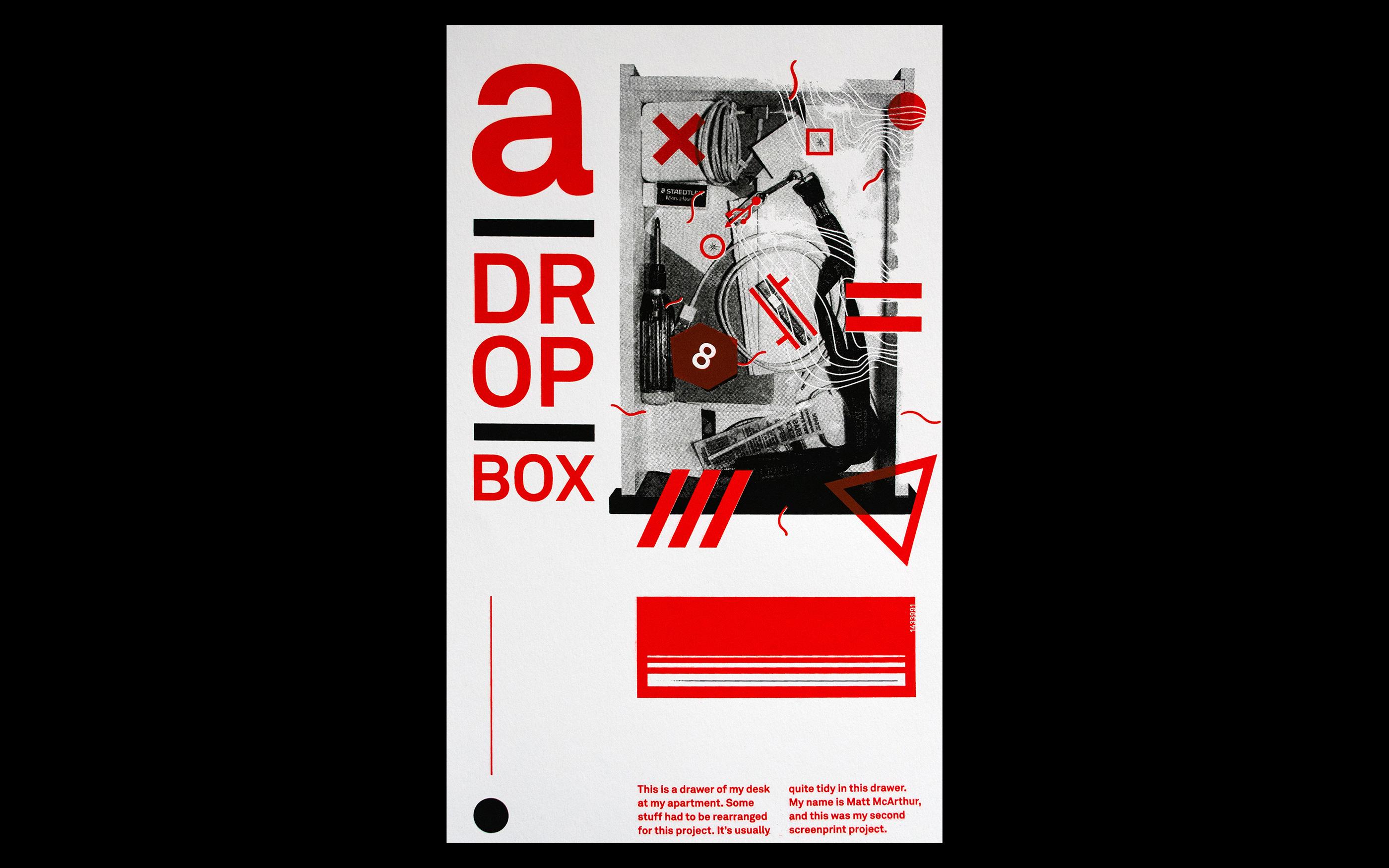 Screenprint Junkbox Poster